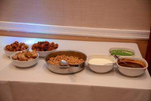 Indian lunch buffet