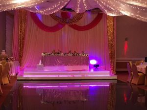 sweet sixteen party hall