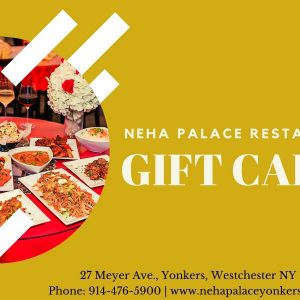 Neha Palace Gift Card
