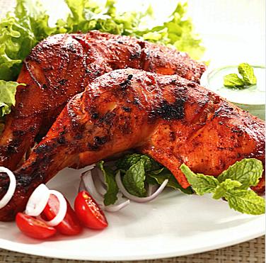 indian food - tandoori chicken